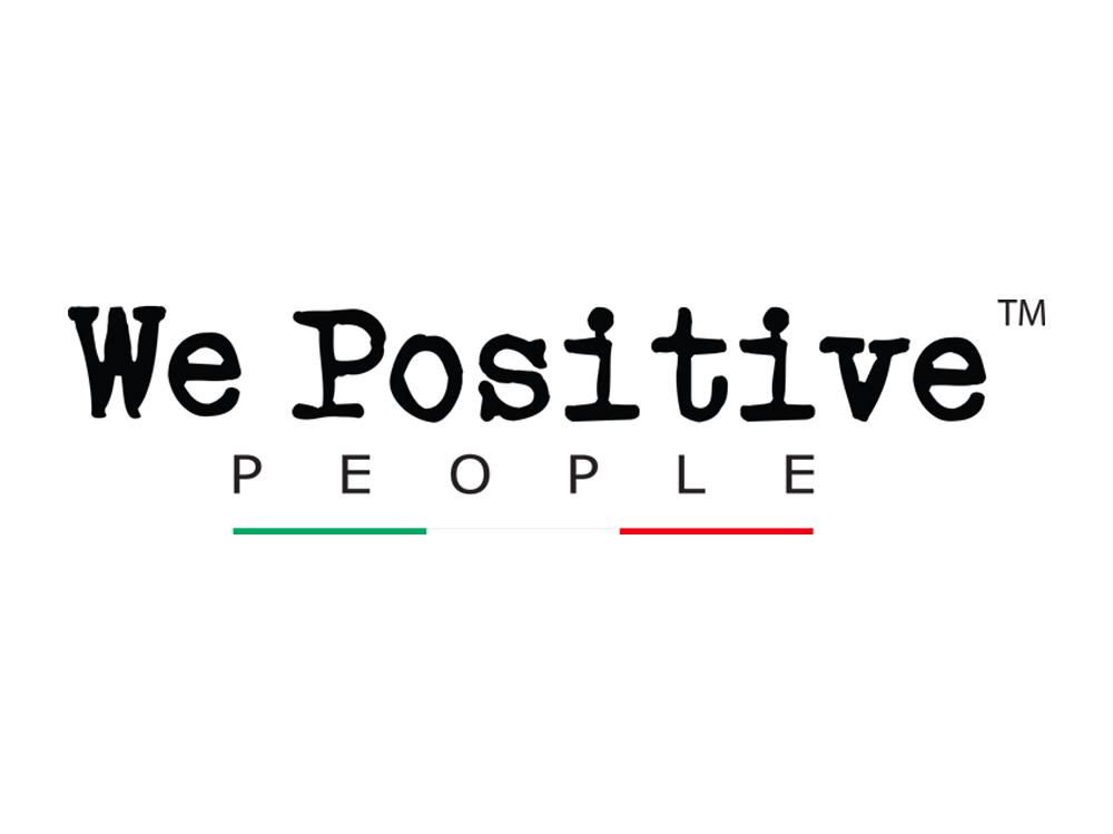 We Positive people Logo
