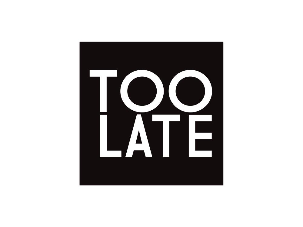 Too Late Logo